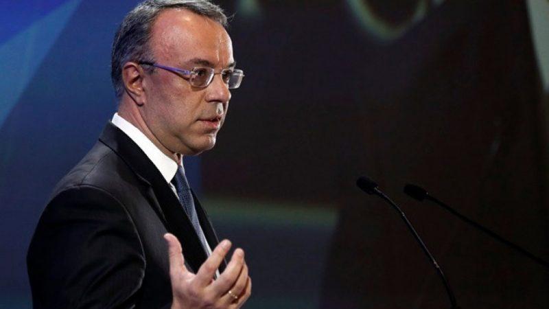 Σταϊκούρας: Πρόσθετες φοροελαφρύνσεις με τον δημοσιονομικό στόχο